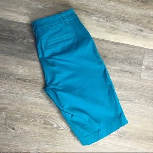 Ralph Lauren Teal Bermuda Shorts size 2 Like New